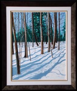 Altona Forest - Winter Afternoon 16x20 O/C, NFS