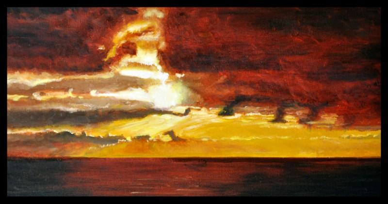 Storm Break, 12″ x 24″ O/C - $300.00