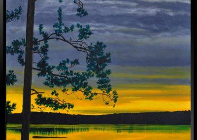 "Sunset Pine, 20"" x 24"" O/C - $350.00"