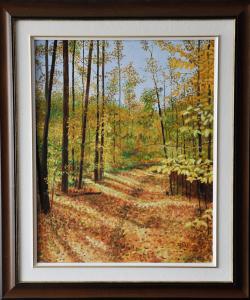 Forest Walk, 16″ x 20″ O/C, $300.00