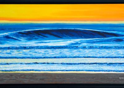"""Wave 1, Surfs Up, 15"""" x 30"""", O/C, $350.00"""