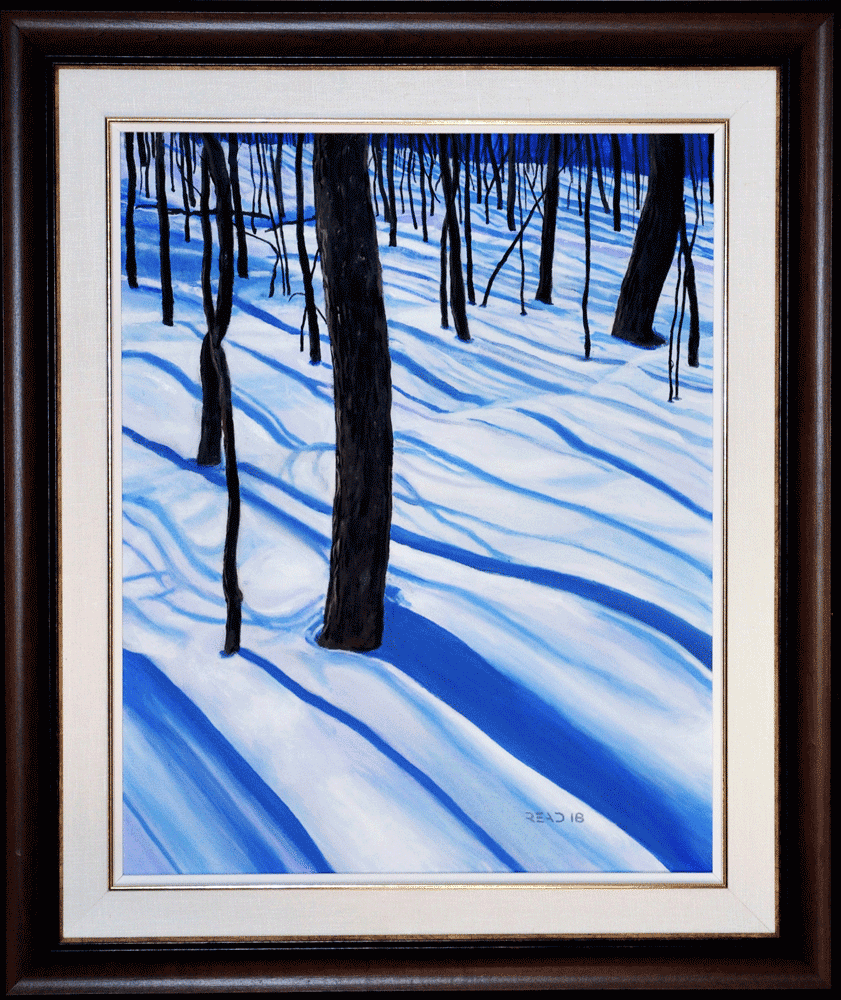 Winter Forest, 16″ x 20″ O/C, $350.00