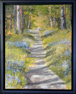 """Spring Trail, 11"""" x 14"""", O/C"""