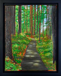 Summer Trail, 11″ x 14″, O/C