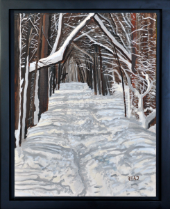 "Winter Trail 11"" x 14"", O/C"