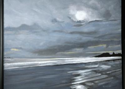 Louis Head Beach, 24″ x 30″, O/C, $400.00