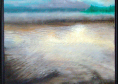 Misty Morning at the Lake 24″x 30″, O/C - $400.00