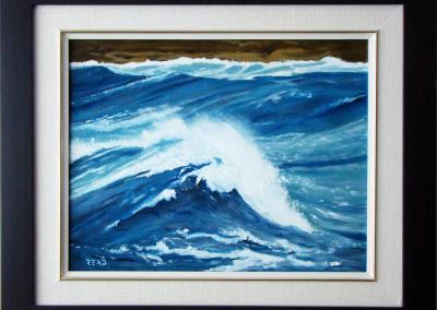 Wave 2, 11 x 14, O/C