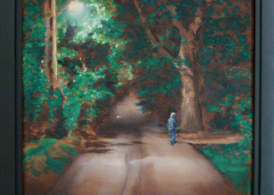 Wandering Home, 12 x 16 O/C