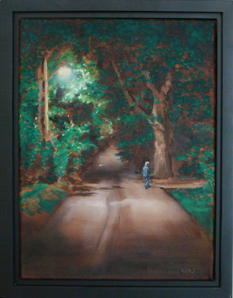 Wandering Home, 12 x 16 O/C - SOLD