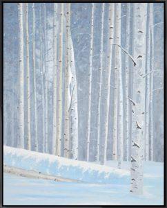 Winter Birch, 20″ x 30″ O/C – SOLD